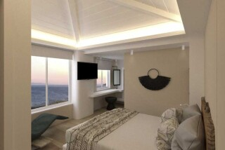 executive deluxe suite blue bay sea view
