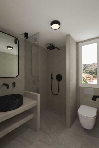 executive deluxe suite blue bay shower