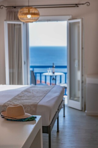 junior suite blue bay aegean sea view