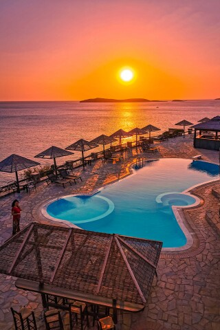 sunset blue bay hotel andros